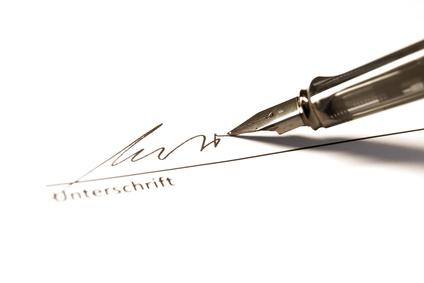 Image Result For Unterschrift Kreditvertrag Privat